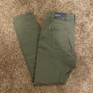 Pants - RW&Co olive green skinny jeggings